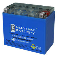 Mighty Max YTX20L-BS GEL Battery Replacement for Power Sonic PTX20L-BS