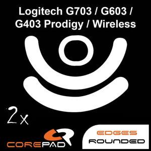 Corepad Skatez Logitech G703 G603 G403 Replacement mouse feet Hyperglides