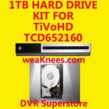 1TB TIVO HARD DRIVE UPGRADE/REPAIR KIT FOR TCD652160 TiVoHD. 6-MO WARRANTY