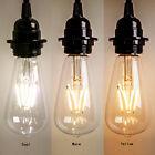 New Vintage Retro Edison E27 2W-8W Screw LED Filament Light Bulb ST64 Globe Lamp