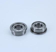 F627ZZ 7x22x7mm (20 PCS) Double Shielded Metal Bearing Flanged Ball Bearing