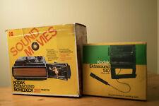 Vintage Kodak Moviedeck 265 Projector & Ektasound Super 8 Camera Bundle