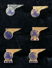 1940'S VINTAGE PAN AM, PAA BADGES WINGS, SERVICE PINS COLLECTION! .6x0275
