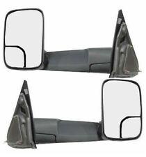 1994 - 2002 Dodge Ram Towing Mirrors Manual - Pair with bracket