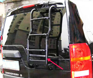 Side rear metal ladder Step Stair rack access roof fits Landrover Discovery 3 4