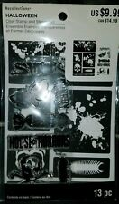 Recollections Halloween House of Horrors Clear Stamp & Stencil Set #1453