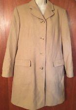 Burberry Coat Wool Beige Size 10