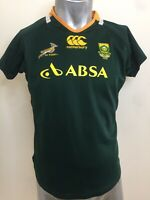 Canterbury South Africa Springboks Rugby Jersey Sz 18 Wmns Ladies Licensed