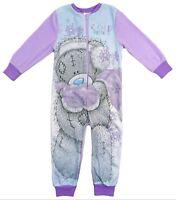Girls Me To You Tatty Teddy All In One Sleepsuit One Piece Pyjama Night Wear