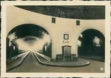 Allemagne, Hambourg, Hamburg, le Port, le Tunnel Vintage print, Photographie pro