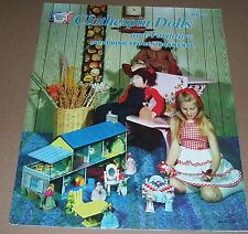 HOW TO WOOD CRAFT BOOK VINTAGE 1974 CLOTHESPIN DOLLS HA-27 HAZEL PEARSON