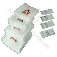 20 X Miele FJM Type Vacuum Cleaner Dust Bags & Filters Cat Dog Red Tab