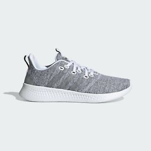 Womens Adidas Puremotion Grey Heather Athletic Sport Shoe FY8223 Sizes 7-8.5