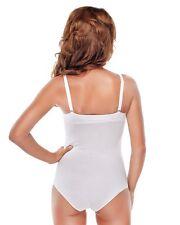 Mujer Body o Cuerpo de la cadena con aro aros extraíble Cojín Bodysuit