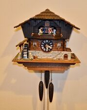 Vintage Way Cool Cuckoo Clock Musical with Dancers and Cuckoo Needs some Fixin'