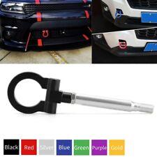 Racing Car Tow Hook Black Aluminum Front Bumper Trailer Ring for Subaru WRX STI