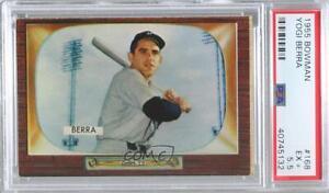 1955 Bowman Yogi Berra #168 PSA 5.5 HOF