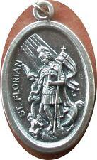 Saint St. Florian Medal + Fire Fighters + Bucket of water goes so far + Z