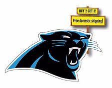"Carolina Panthers Decal/Sticker NFL Cam Newton Football 8"""