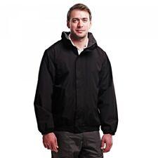 Regatta TRW444 Mens Dynamo Jacket Waterproof Windproof Raincoat Size S-3xl L Black