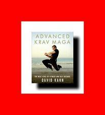 ☆MARTIAL ARTS BOOK:ADVANCED KRAV MAGA:THE NEXT LEVEL OF FITNESS+SELF-DEFENSE+MO%