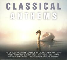 CLASSICAL ANTHEMS - 2 CD BOX SET - PUCCINI, BEETHOVEN, BACH, STRAUSS & MANY MORE