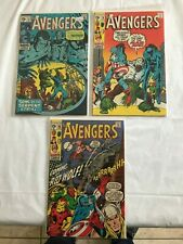 AVENGERS 73 FVF 78 VFNM 9.0 80 VF 1 LOT IRONMAN FIRST LETHAL LEGION RED WOLF