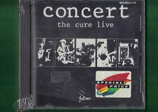 CURE - CONCERT THE CURE LIVE CD NUOVO SIGILLATO