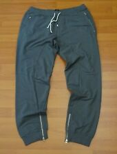 """STONE ISLAND SHADOW PROJECT GREY COTTON JOGGERS / PANTS 36""""WAIST NEW WITH TAGS"""