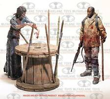 Walking Dead TV Survival Morgan Diorama Dlx Pack