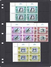 BAT 1979 PENGUINS set complete blocks/4 VF MNH