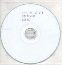 (AI84) Crystal Stilts, Departure - DJ CD
