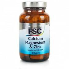 FSC Calcio, magnesio e zinco 30 compresse 90 compresse * BUY 1 GET 1 FREE *