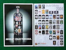 Pubblicità Advertising Cartolina vodka (Italy) ABSOLUT COLLECTION 2004  282/5026