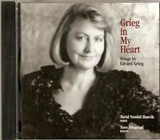Turid Nordal Haavik - Grieg In My Heart - Songs By Edvard Grieg (CD 1994) NEW