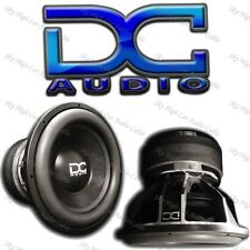 "DC AUDIO Level 6 15"" 2 ohm Dual Voice Coil Subwoofer 4500/9000 Watt NEW"
