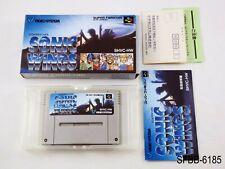 Complete Sonic Wings Super Famicom Japanese Import SNES Japan SFC JP US Seller B