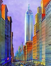 5th Avenue, New York City. 334 Piece Wooden Jigsaw Puzzle by Nautilus Puzzles