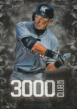 2016 TOPPS UPDATE ICHIRO OF MIAMI #3000-13 3000 HIT CLUB SP