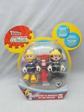Disney Mickey Mouse Clubhouse Mickey & Donald To The Rescue Figures Firemen