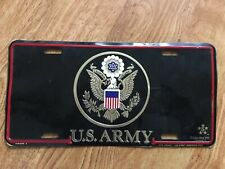 US Army Metal Novelty Car License Plate Auto Tag