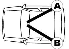 QH BC3260 Brake Cable Rear RH.