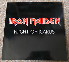 IRON MAIDEN - FLIGHT OF ICARUS - HYPER RARE 32 YEARS OLD LIVE LP - LIKE NEW !!!!