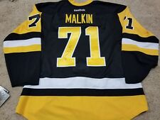 EVGENI MALKIN 2016 Finals Signed Pittsburgh Penguins Authentic NEW Hockey Jersey