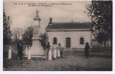 Cpa Carte postale 16 Charente Loubert la Mairie et le Monument aux Morts