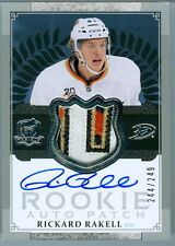 2013-14 THE CUP #122 RICKARD RAKELL RC ROOKIE AUTO 4 COLOUR LETTER, 10 BREAKS!