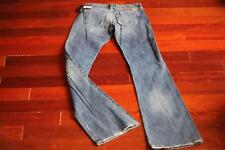 $176 DIESEL CHERONE Jeans Boot Cut Free Shipping 24 x 34 Made in Italy