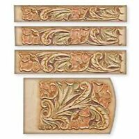 """Floral Keycase & Belt (1-1/4"""", 1-1/2"""", & 1-3/4"""") Craftaid Tandy Leather 72511-00"""