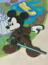 Jedi Mickey from Easel Boxed Set DLR Mickey's Pin Odyssey LE OC Disney Pin RARE