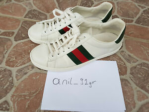 Gucci Ace sneaker used G9, EU 43.5  US 9.5